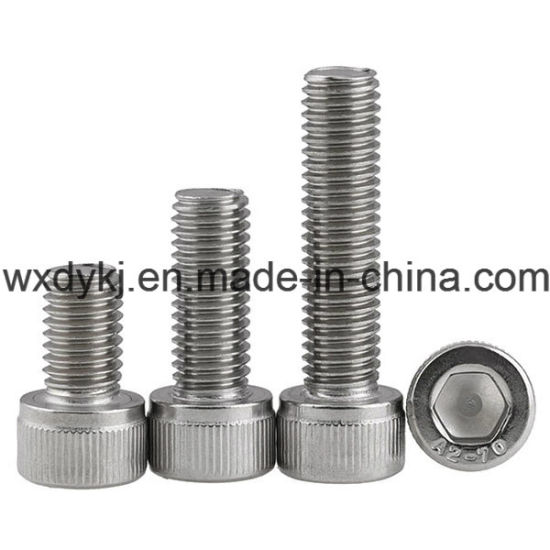 Wholesale Stainless Steel Head Socket Cap Machine Screw pictures & photos