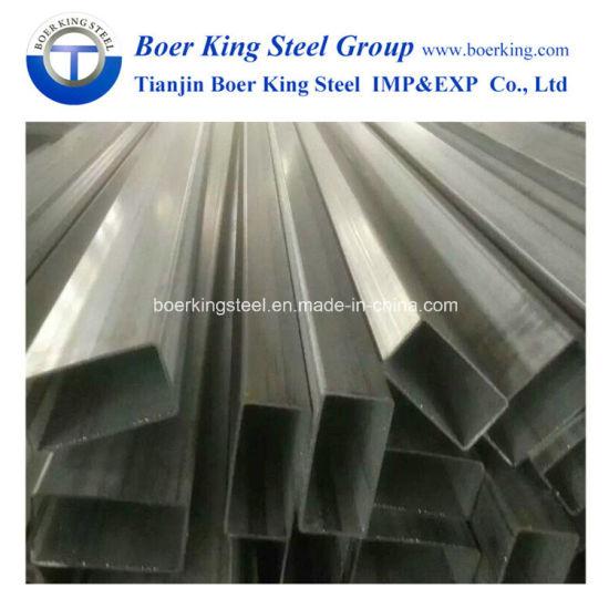 A500 Ss400 A36 Pre-Galvanized Carbon Square Steel Pipe /Tube