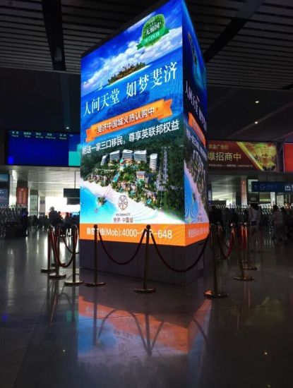 Full Color Indoor LED Display Sign for Shopping Center