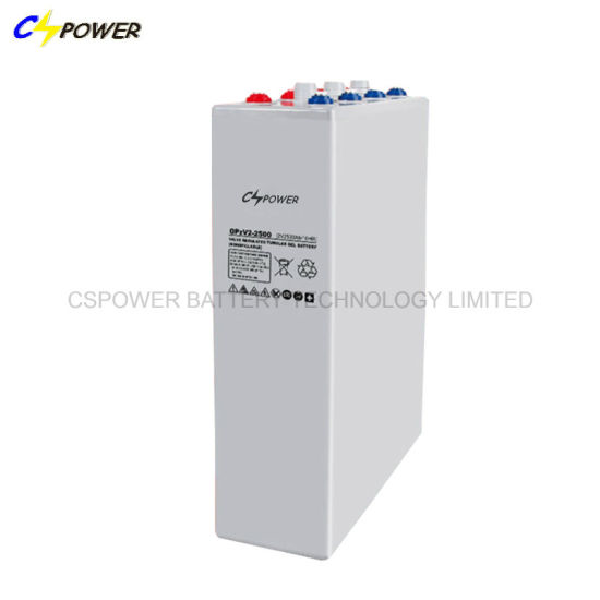 2V3000ah Opzv Tubular Gel Battery for Solar Power Storage pictures & photos