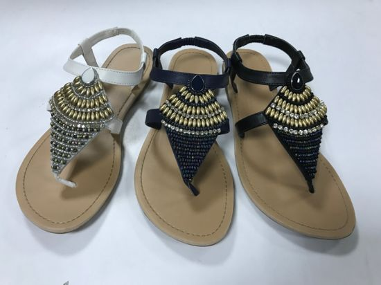 4ddcfd4592003 China Fashion Flat Summer Sandals 2018 for Women Indian Style Ladies Sandals  - China Flat Summer Sandals for Women Indian Style, High Quality Indian  Style ...