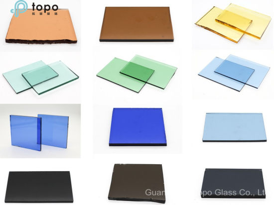 3mm-19mm Colored Float Building Glass (C-TP) pictures & photos
