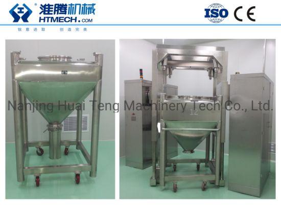 Hlt Lift Hopper Mixer for Pharmaceutical Industry