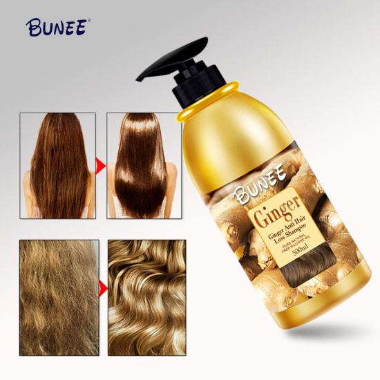 High Quality Anti Hair Loss Ginger Hair Growth Shampoo pictures & photos