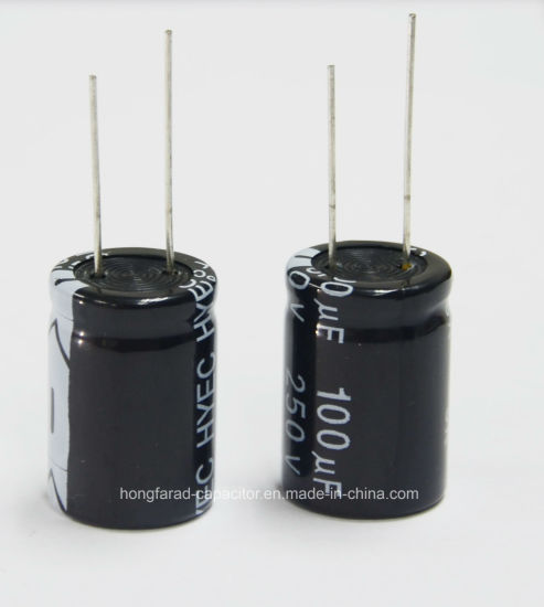 High Quality Ls Aluminum Electrolytic Capacitor for Radio pictures & photos