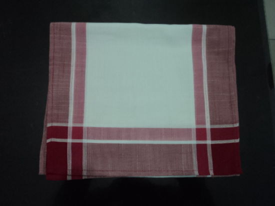 Yarn-Dyed Checked Tablecloth Is Warm and Comfortable