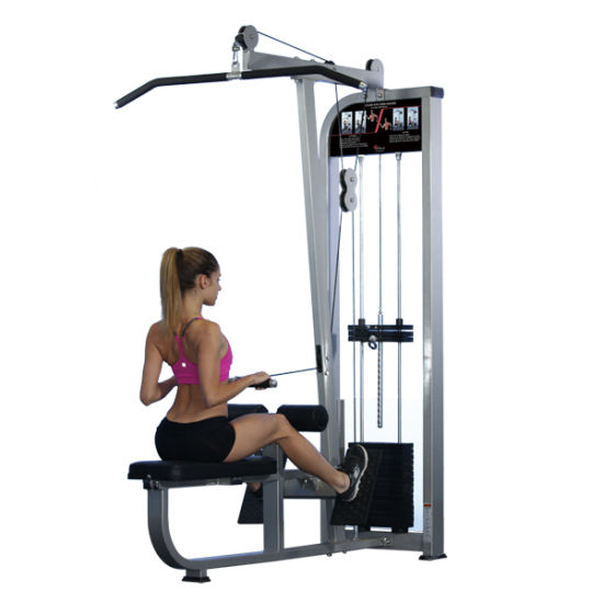 Lat Pull Down / Seated Row Gym Equipment Fitness Mutil Functional Trainer pictures & photos
