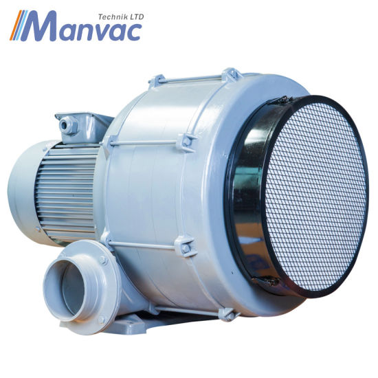 High Vacuum Aluminum Alloy Multistage Centrifugal Blower Fan pictures & photos