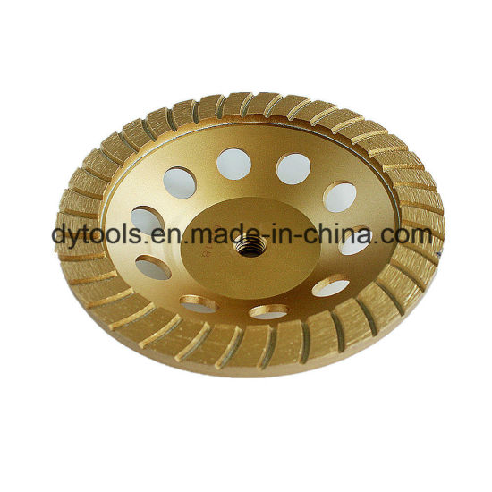Diamond Turbo Segment Grinding Cup Wheel Tool Manufacturer pictures & photos