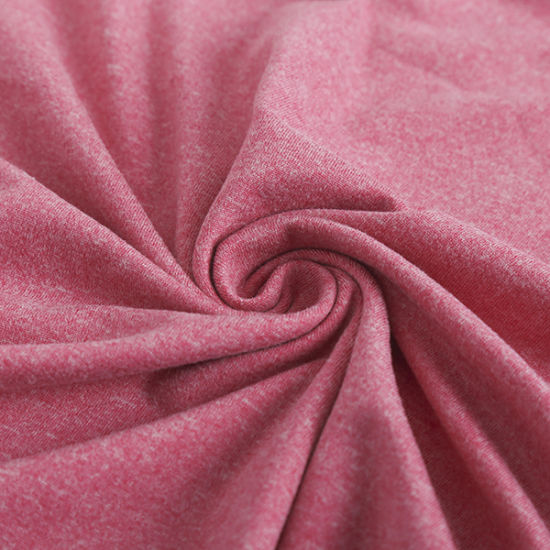 Good Stretch Wicking Finish Recycle Polyester Spandex Cationic Knitting Fabric for Sports or Pants pictures & photos