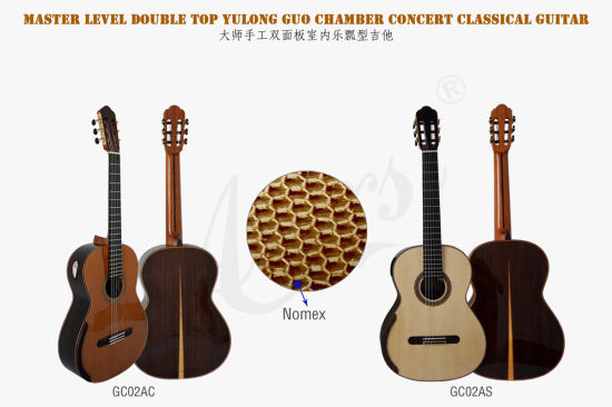 Aiersi Double Top Smallman Classical Guitar From Yulong Guo (GC02A) pictures & photos