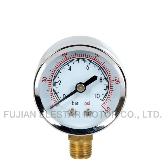 General Type Pressure Gauge -Black Steel Pressure Gauge pictures & photos