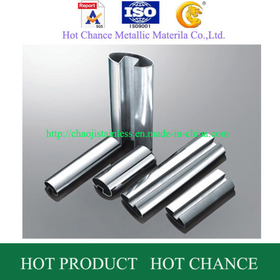 SUS304, 316 Stainless Steel Slot Tube for Glass Handrail pictures & photos