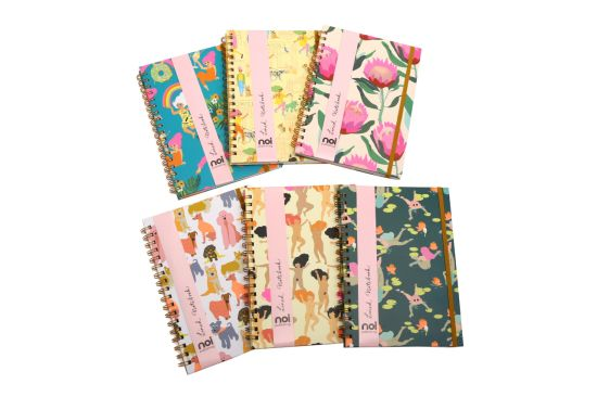 Beauty Custom Loose-Leaf Spiral Wire Printing Notebook