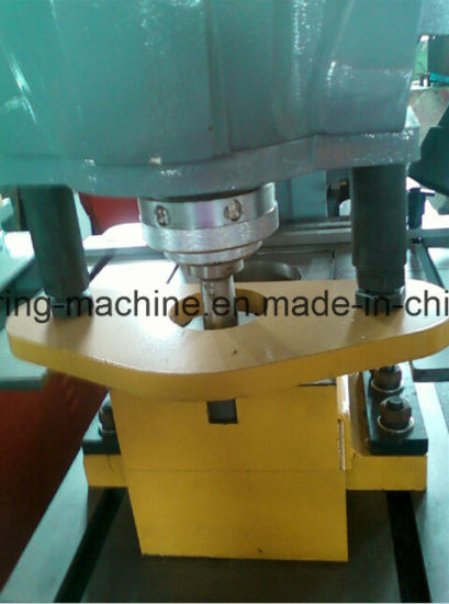 Q35y-16 Hydraulic Iron Worker United Punching and Shearing Machine pictures & photos
