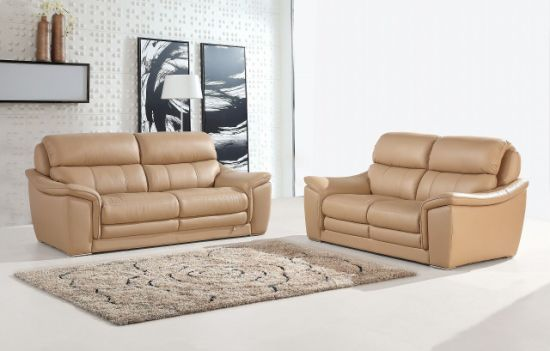 [Hot Item] High Back Support Modern Living Room Italian Genuine Leather  Sofa (SBL-9221)