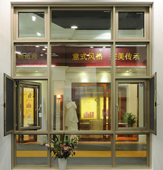 Cheap Aluminum Alloy Framed Casement Window with Double Glazed pictures & photos