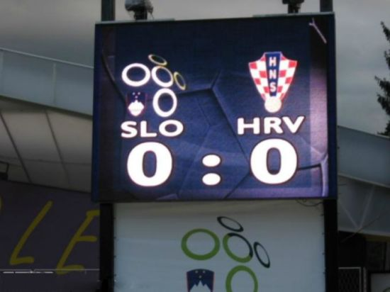 LED Scoreboard P20 Outdoor Full Color Screen/Scoring Solution for Stadium
