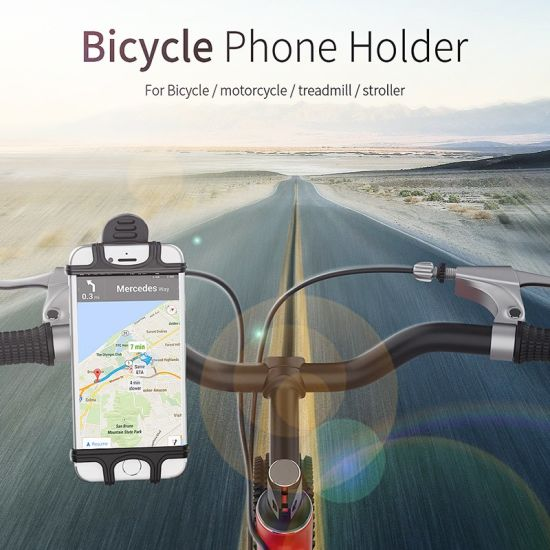 Universal 360° Rotation Motorcycle Bicycle Mount Smart Phone Stand Holder