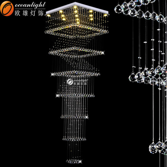 China Oceanlamp Wholesale Crystal Chandelier Leaf Design Hanging On - Wholesale chandelier crystals catalog