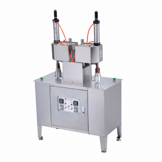 Manual Model Filling Tea Cup Hidden Filling Packing Machine (Double Heads)
