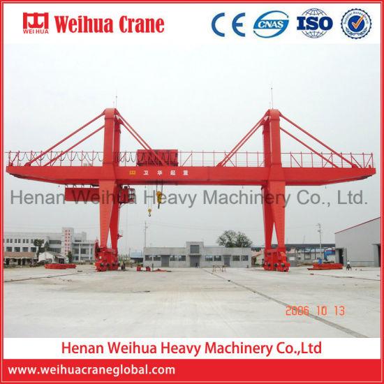 Weihua Mobile Cantilever Gantry Crane 100 Ton for Sale