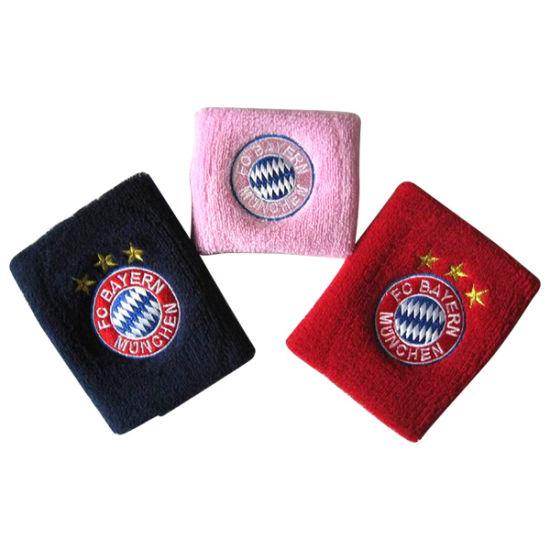 Custom High Quality Cotton Sports Sweatband