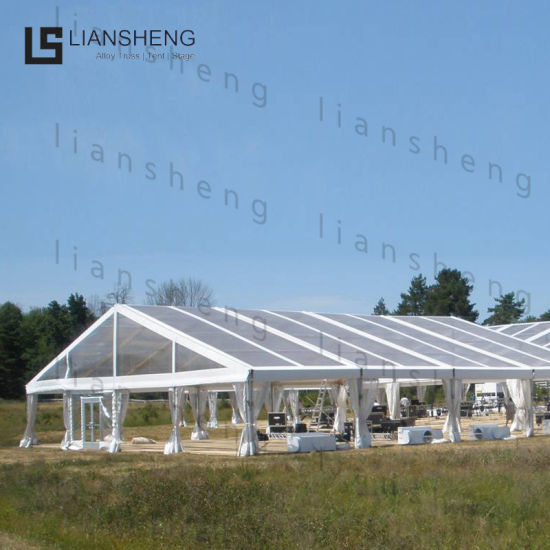 Hot Selling Large Full Transparent Warehouse Storage Auto Show Event Tent Glass House
