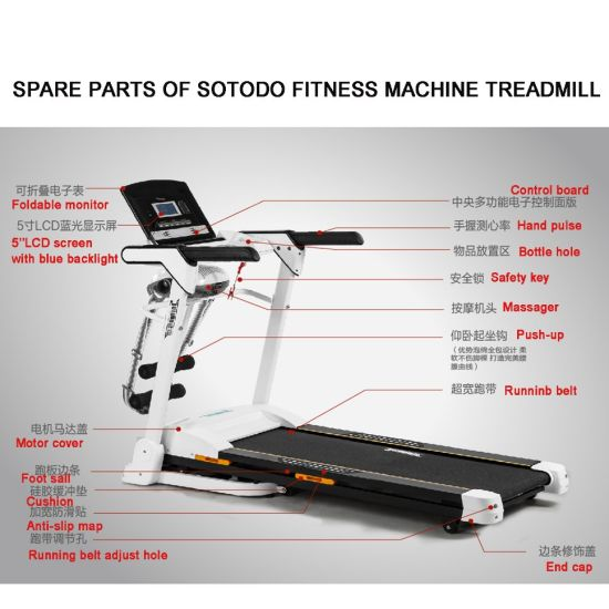 Treadmills Home Motorized Walking and Running Electric Treadmills for Sale with Factory Price