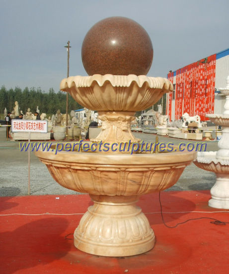 Garden Ball Fountain for Stone Marble Granite Water Fountain (SF-B098) pictures & photos