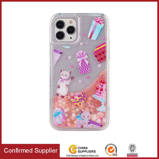 Liquid Glitter Mobile Phone Case Flowing Bling Cell Phone Case