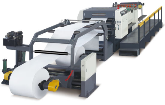 High Speed Automatic Craft A4 Paper Board Roll to Sheet Cutting Machine
