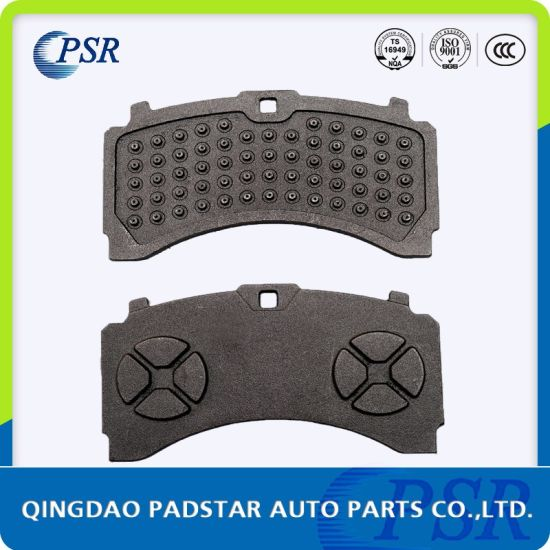 Auto Spare Parts Brake Pads Cast Backing Plate Supplier for Mercedes-Benz pictures & photos