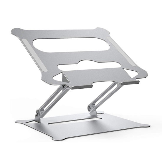 Aluminum Alloy Portable Foldable Adjustable Height Laptop Stand Holder