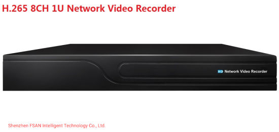 FSAN 8CH 1u Full Real-Time Network Video Recorder CCTV Security DVR NVR