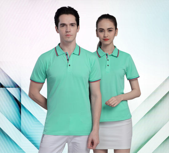 Fast-Drying Breathable Men′s and Women′s Polo Shirts pictures & photos