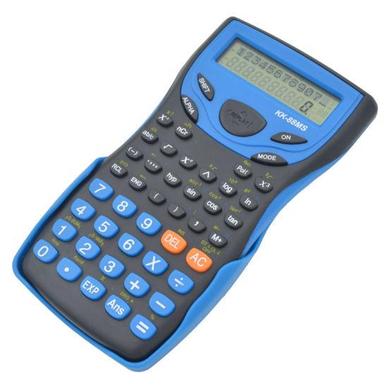 Handheld Student's Scientific Calculator 2 Line Display Stationery