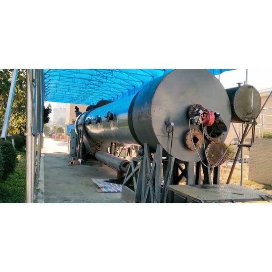 Waste Plastic to Fuel Oil Continuous Auto Pyrolysis Recycling Plant
