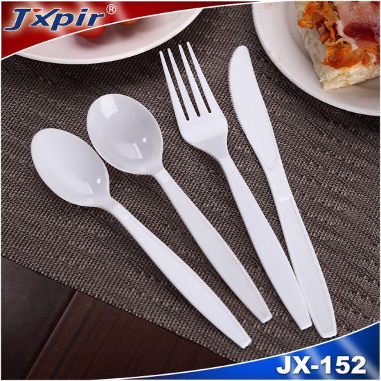 Disposable Plastic Flatware Medium Weight Heavy Weight Cutlery