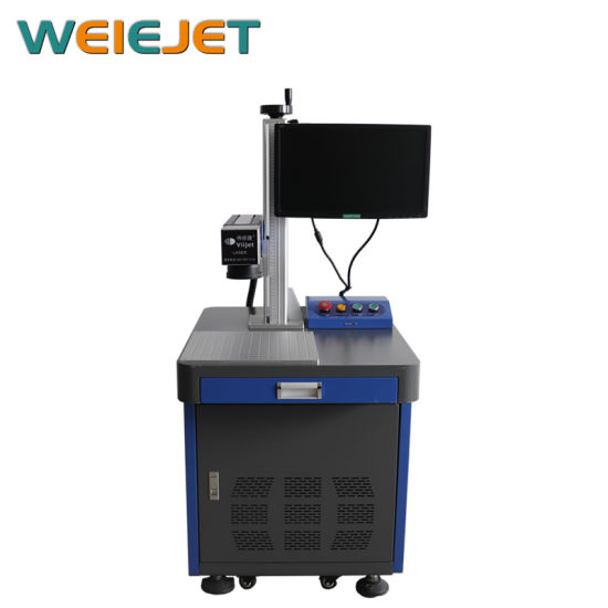 New Launched 20W Fiber Laser Engraving/Marking/Coding Machine for Aluminum Can/Package