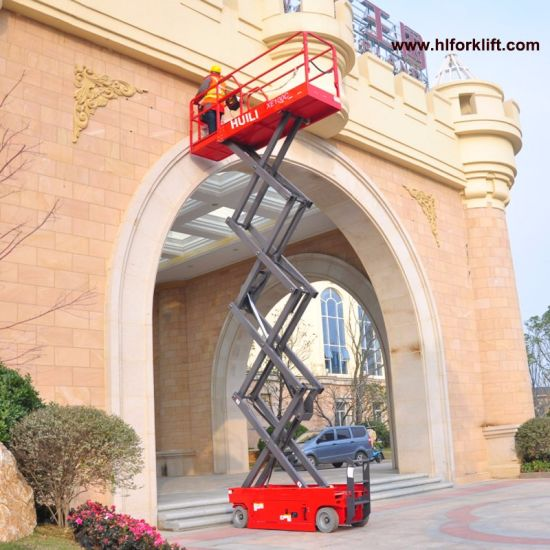 Self-Propelled Electric Scissor Lift Xe-Series with Hydraulic Drive Electric Drive