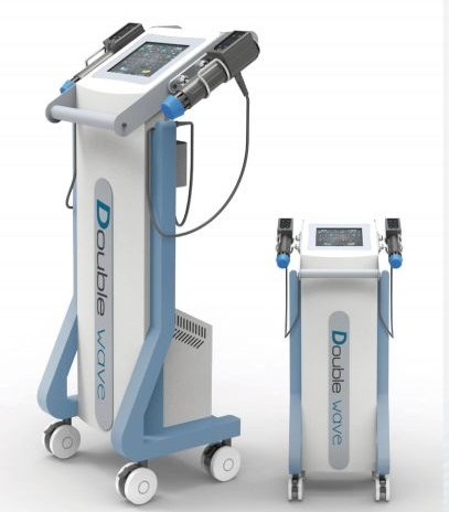 Dual Channel Shock Wave Sports Injury Recovery Equipment for Physiotherapy