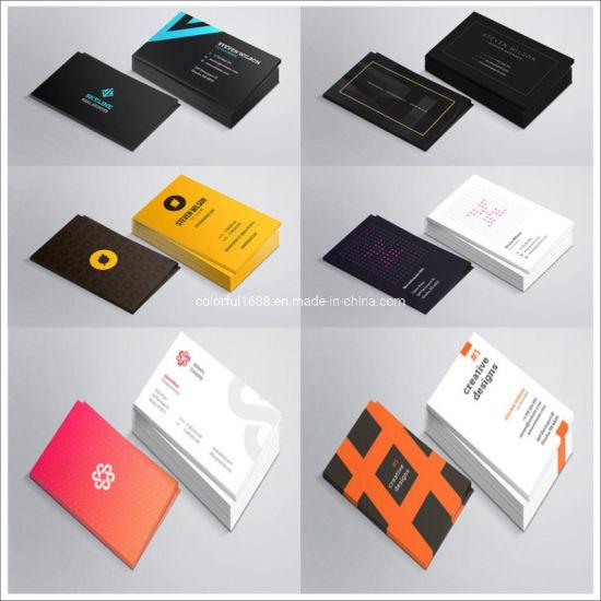 China Custom Your Pvc Paper Invitation Card Logo Business