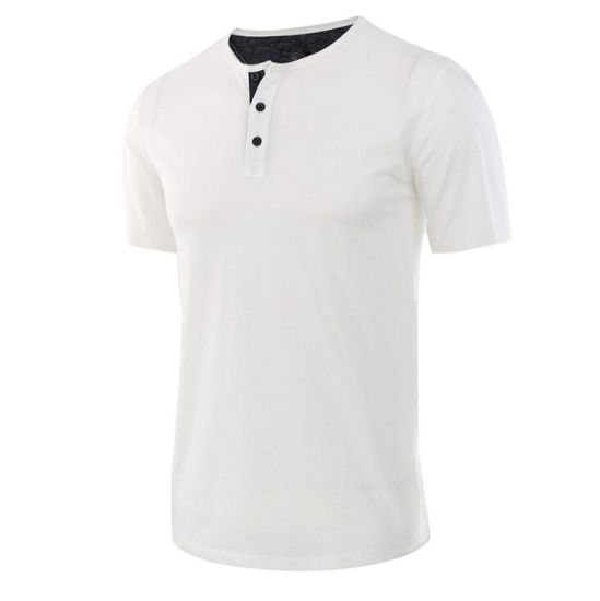 New Mens Summer Soft Quality Bamboo Fiber Round Neck Short Sleeve T-Shirt Tops