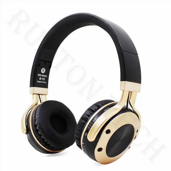 B10 Customized Logo Over Ear Headband Foldable Wireless Bluetooth Headset With Microphone China Bluetooth Headset And Wireless Bluetooth Headset Price Made In China Com