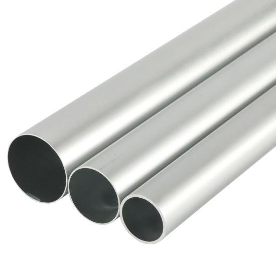 Aluminum Anodized Extrusion Aluminium Alloy Seamless Pipe for Copier Printer