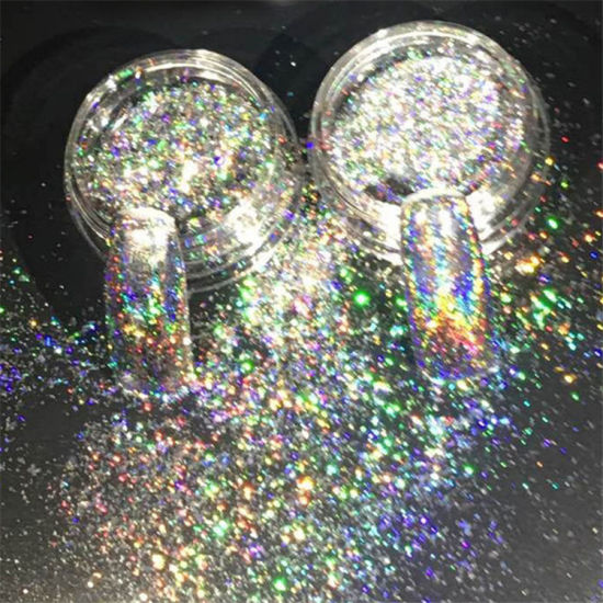 2 Colors Super Shiny Jewelry Powder Glitter Nail Art Decoration Accessory pictures & photos