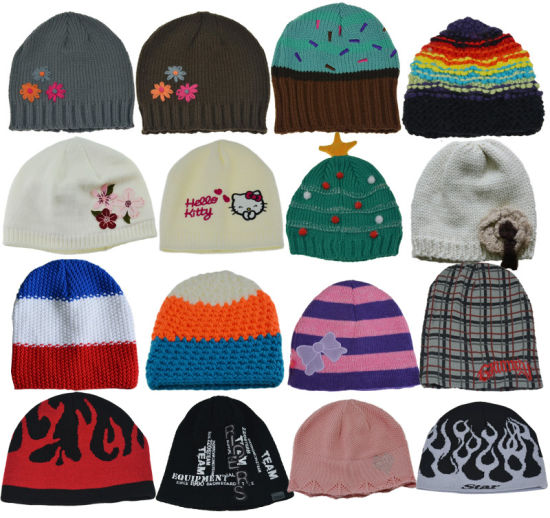 BSCI Promotional Kids Winter Beanie Knitted Hat