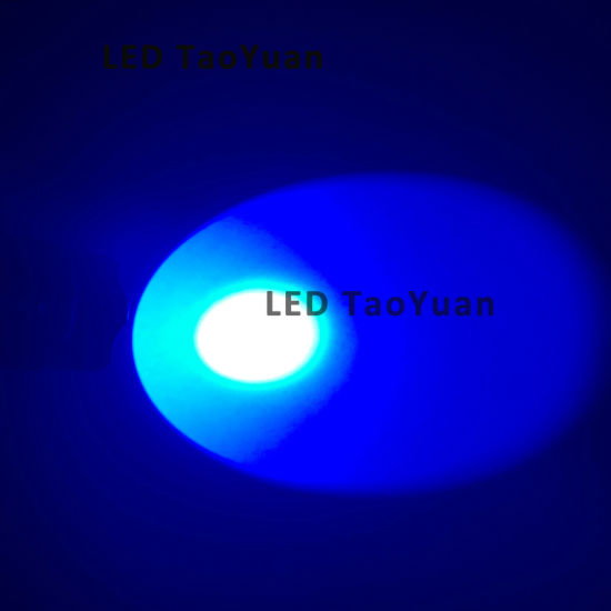 LED Flashlight Blue Light 3W