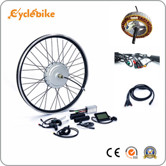 a6423810cf7 36V 800W/1000W Waterproof Aluminum Alloy Stator E Bike Conversion Kit with  LCD Display
